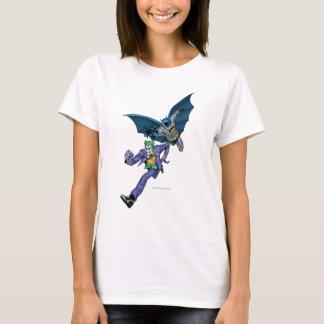 Batman und Joker mit Gewehr T-Shirt