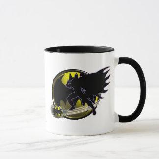 Batman und Kreis-Logo Tasse