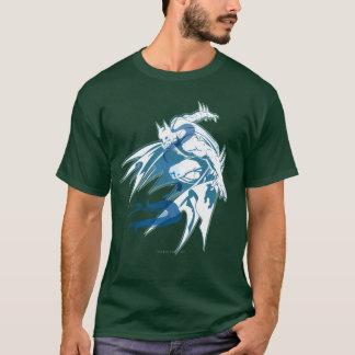 Batman-Wasser-Tonal Collage T-Shirt