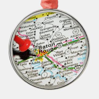 Baton Rouge, Louisiana Silbernes Ornament