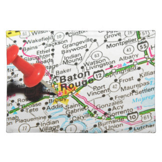 Baton Rouge, Louisiana Tischset
