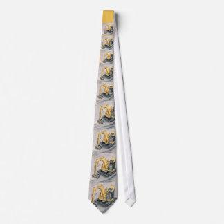 Bau-Arbeitskraft-Krawattenlöffelbagger Krawatten