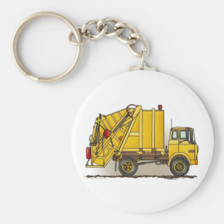 Bau-Schlüsselkette des Abfall-LKW-2 Schlüsselanhänger