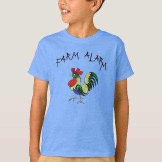 Bauernhof-Warnung T-Shirt