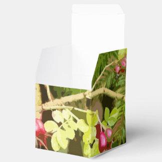 Baum-Blätter-Blatt-Entwurfs-Holz-Wald Geschenkschachtel