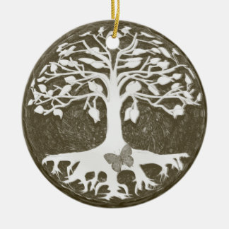 Baum der Leben-neuen Anfänge durch Amelia Carrie Ornament