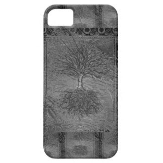 Baum des Leben-Chrom-Musters Etui Fürs iPhone 5