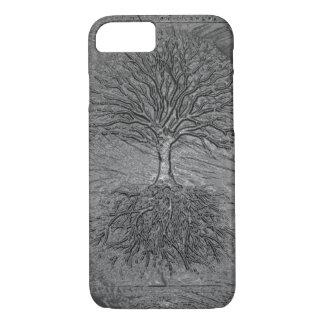 Baum des Leben-Chroms iPhone 7 Hülle