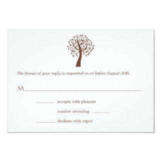 Baum des Leben-Davidssterns Bar-Schläger Mitzvah 8,9 X 12,7 Cm Einladungskarte