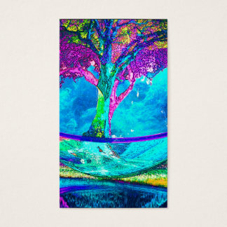 Baum des Lebens durch Amelia Carrie Visitenkarte