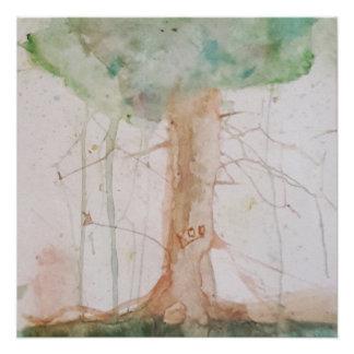 Baum des Lebens durch Koo Wasserfarbe-Plakat Perfektes Poster