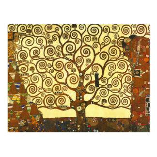 Baum Gustav Klimt der Leben-Postkarte