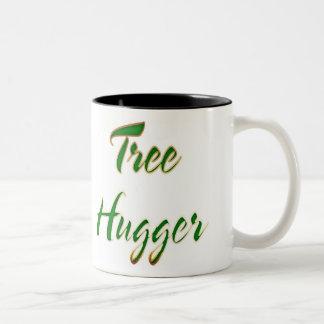Baum Hugger Grün Zweifarbige Tasse
