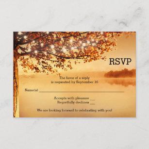 Hochzeit Herbst Einladungen Zazzle At