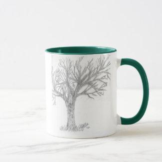 Baum-Skizze-Tasse Tasse