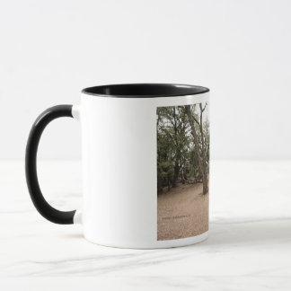 Bäume in der Nebel-Tasse Tasse