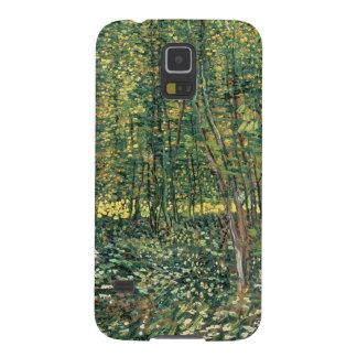 Bäume Vincent van Goghs | und Unterholz, 1887 Galaxy S5 Hülle