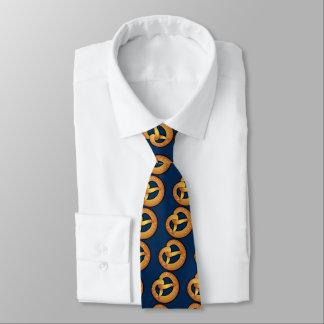 bayerische Brezel Individuelle Krawatte