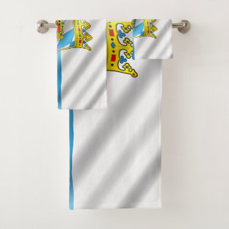 Bayerische Flagge Badhandtuch Set