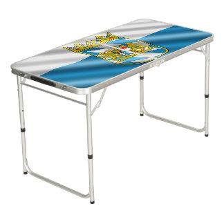 Bayerische Flagge Beer Pong Tisch