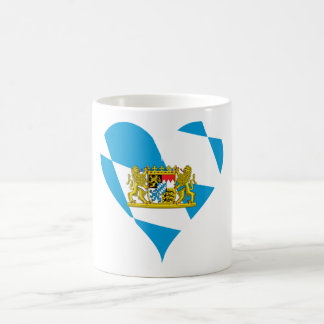 Bayerische Flagge Kaffeetasse