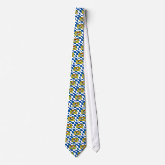 Bayerische Flaggen-Krawatte Personalisierte Krawatten