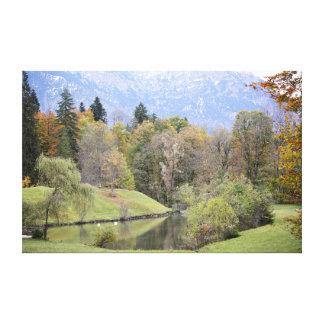 Bayerische Landschaft Gespannte Galerie Drucke
