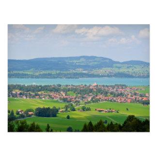 Bayerische Landschafts-Postkarte Postkarte
