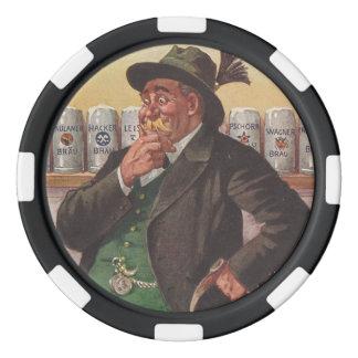 Bayerischer amerikanischer Poker-Chip Oktoberfest Poker Chip Set