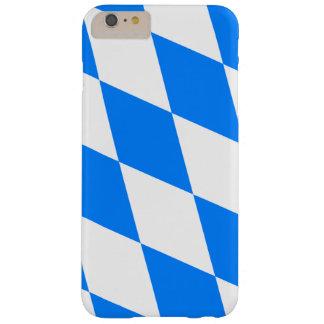 Bayerischer Flaggen-Telefon-Kasten Barely There iPhone 6 Plus Hülle