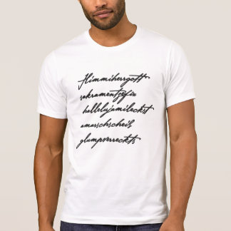 Bayerischer Fluch (lang) T-Shirt