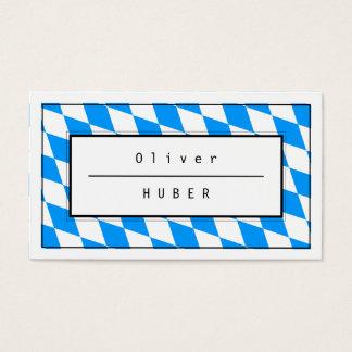 Bayerisches Blau Visitenkarten