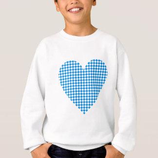 Bayern Herz Rauten Bavaria heart diamonds Sweatshirt