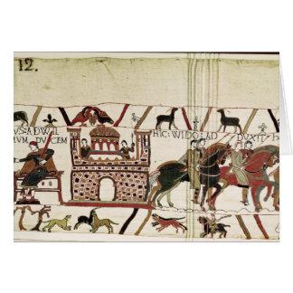 Bayeux-Tapisserie-Graf Harold zu Herzog von Karte