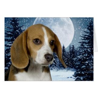 Beagle-Anmerkungs-Karte Mitteilungskarte
