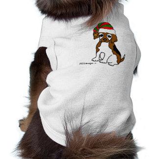 Beagle-Baby-Billy-Weihnachtshaustier-Strickjacke Top