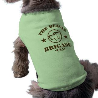 Beagle-Brigaden-Hundet-stück Shirt