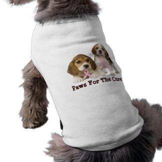 Beagle-Brustkrebs-Haustier-Kleidung Shirt
