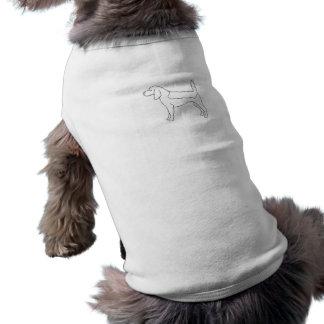 Beagle-Farbe Ihre eigene Hundehaustier-Kleidung T-Shirt