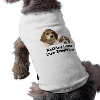 Beagle-Freund-Haustier-Kleidung Top