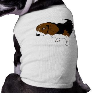 Beagle-Haustier-T-Stück T-Shirt