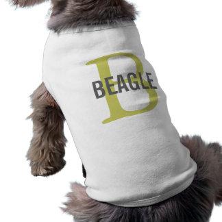 Beagle-Monogramm Top