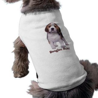 Beagle-Welpen-Haustier-Kleidung Shirt