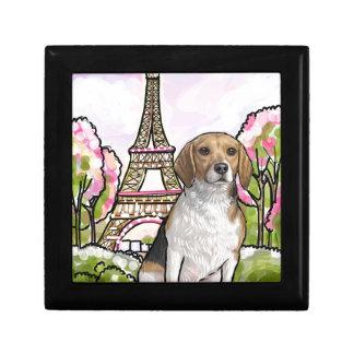 Beagleeiffel-Turm Paris Geschenkbox