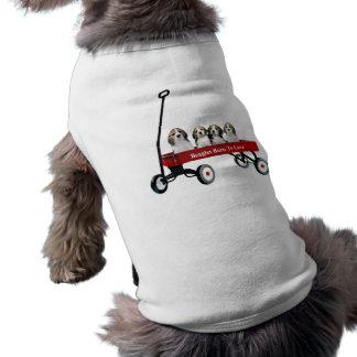 Beagles in der Lastwagen-Haustier-Kleidung Top