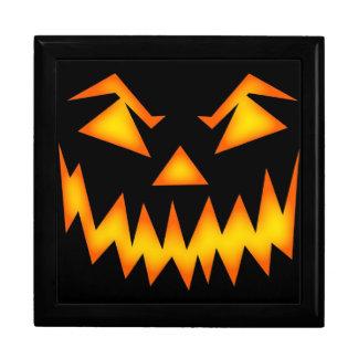 Beängstigendes Halloween-Lächeln Große Quadratische Schatulle