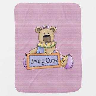 Beary niedlich Baby-Decke
