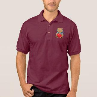 Beary spezieller Krankenschwester-Teddybär mit Polo Shirt