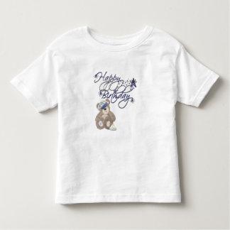 BearyFuzzyHugs-HappyBirthday Kleinkinder T-shirt