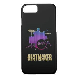 Beatmaker Schlagzeuger iPhone 6 Fall iPhone 8/7 Hülle
